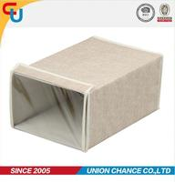 Foldable nonwoven fabric storage box for nike shoes
