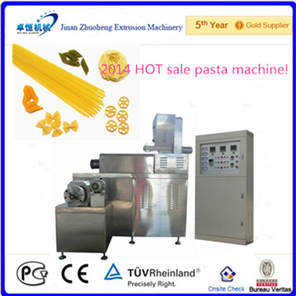 Industrial Italian pasta micaroni noodle making machine