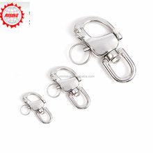 Rising Custom Stainless Steel Swivel Jaw Snap Shackle Sailing Boat Marine Hardware Fitting Engineering Tool Parts Pick Size