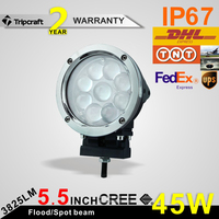 9-80V 45W led worklight, auto LED work light auto parts led work light For Auto Vehicles, tractor