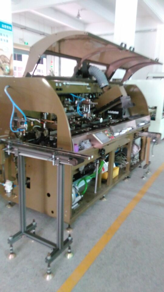 HS-ASPM1 factory supply single color full auto chain type screen printing machine