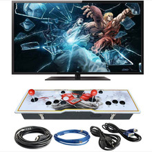 Marwey Built-in 999 Classic Games TV, PC Home Game Machine Metal Box 2 Players Joystick Video Gaming Console