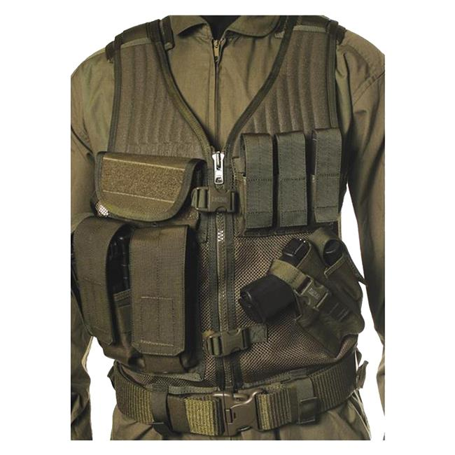 Airsoft Tactical Elite Vest Cross Pistol Mag
