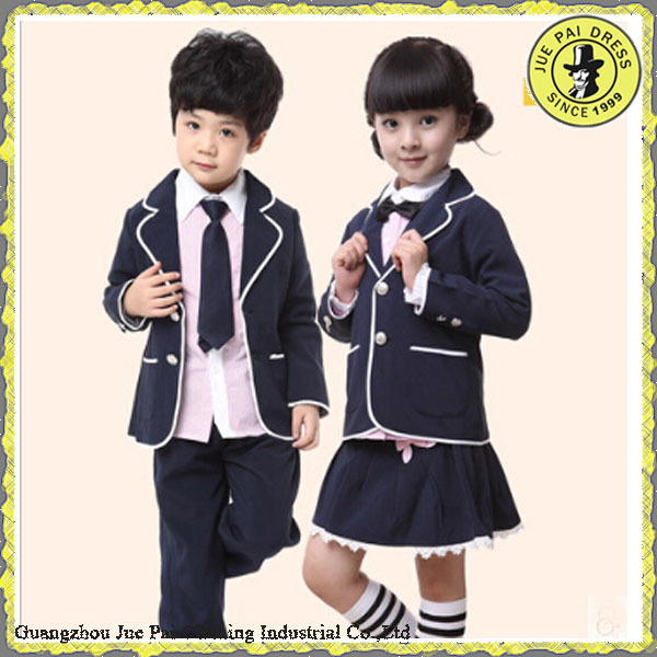 Polyester Viscose Yarn Dyed Uniform School-uniform Sample