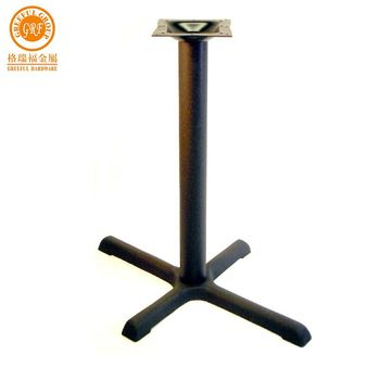 Cheap and high quality metal base for table cast iron base for table
