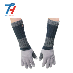 25 Years Experience Winter Custom Fashion Kid Knit Gloves Child Fingerless Gloves