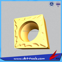 HOT SALE Turning Carbide Inserts for semi-fine and fine furnishing-----CCMT060204-TM with coating VP5125