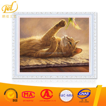 Cat Animals DIY Painting By Numbers Kits Drawing Painting Picture On Canvas For Home Decoration Unique Wall Artwork y86