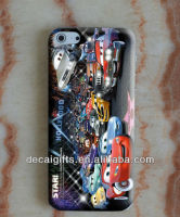 High quality custom full color print tpu phone case, cartoon cell phone case
