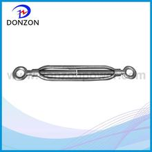 Zinc plated JIS standard frame type rigging turnbuckle