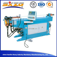 DW75NC auto bender machine hydraulic pipe punching machine