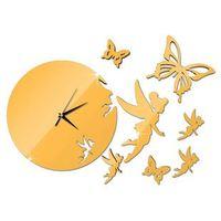 wooden clock kits metal watch wall clock electronic wall art