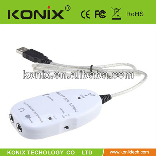 usb guitar link cable installation driver usb audio interface from konix