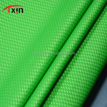 Tear resistant shimmer polyester hexagon fabric for shoes and bag, Anti-static fabric