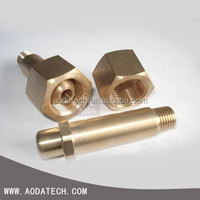 CNC machining service OEM hospital high pressure medical gas fitting oxygen wall outlet