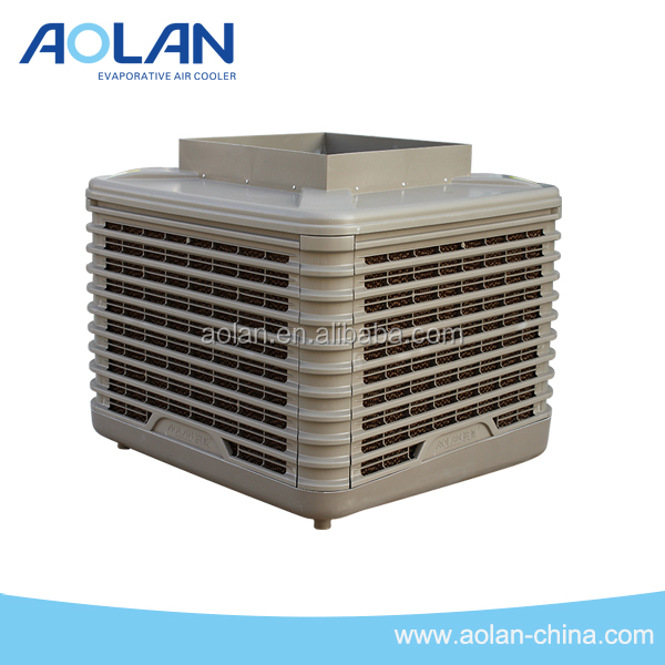 Wall mount air cleaner for air cooling only