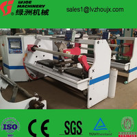 Single Shaft Automatic High Speed Cutting Machine for BOPP/PE/PVC/Paper Tapes
