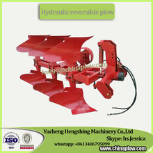Hydraulic reversible furrow plow share plough with factory price