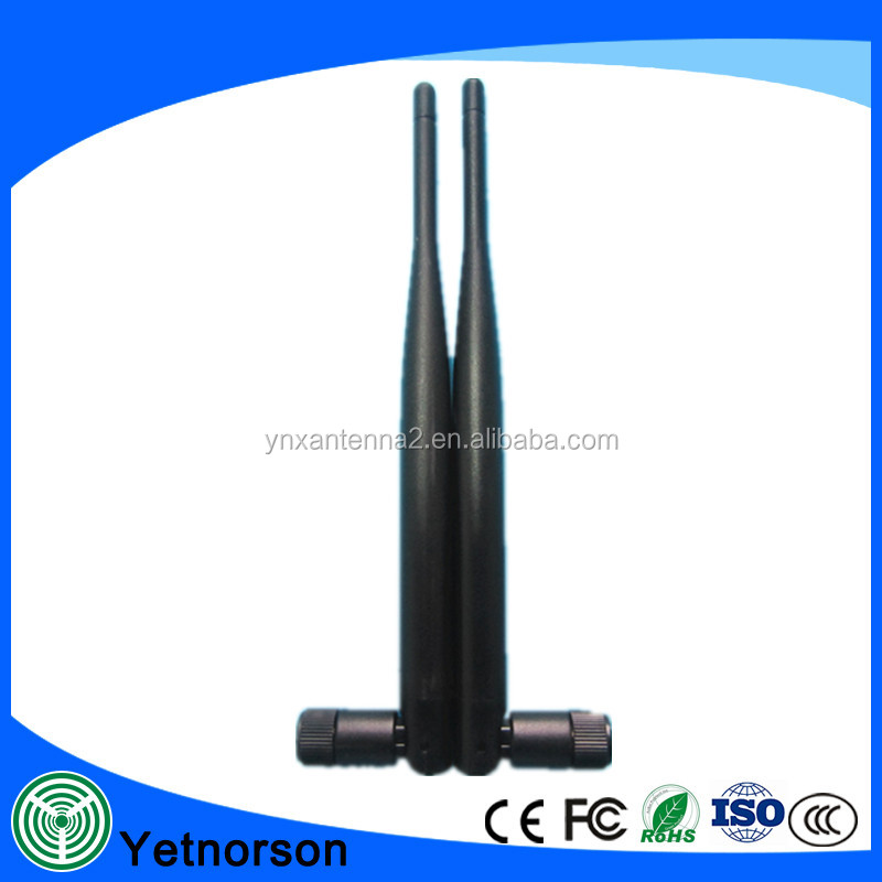 Popular 433/868/915 MHZ antenna long range mini SMA/RP SMA rubber antenna