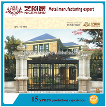 residental new house tubular gate design, different steel gate designs, latest main gate designs