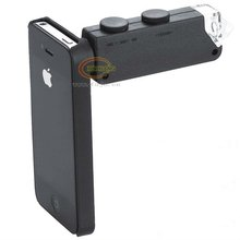 2013 Black rectangle high quality usb microscope for iPhone