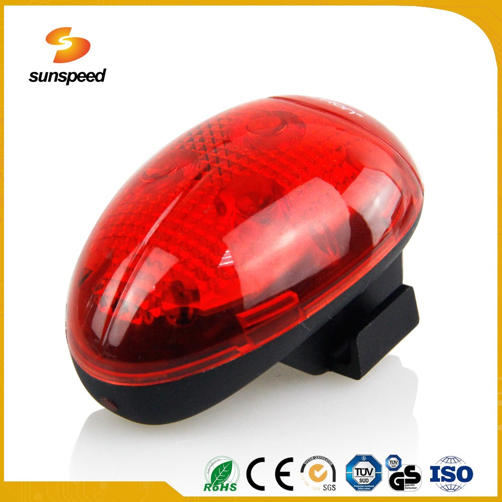 IPX3 Waterproof Bike Flashing Light LED Rear Light for Bicycle