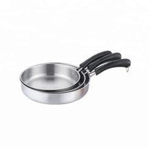 Factory Stainless Steel Non Stick Frying Pan Cookware Set