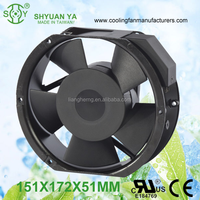Die Cast Aluminum Roof 230V AC Extractor Axial Fan