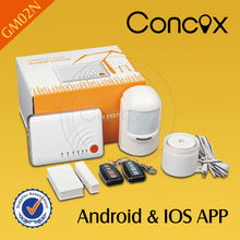 Hot sale kit de alarma gsm with Android & ios APP GSM wireless security alarm system for Home