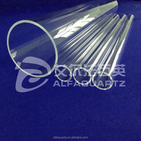 OD300mm high purity quartz glass tube / quartz pipe thickness5mmResistance to high temperature of 1100 degrees