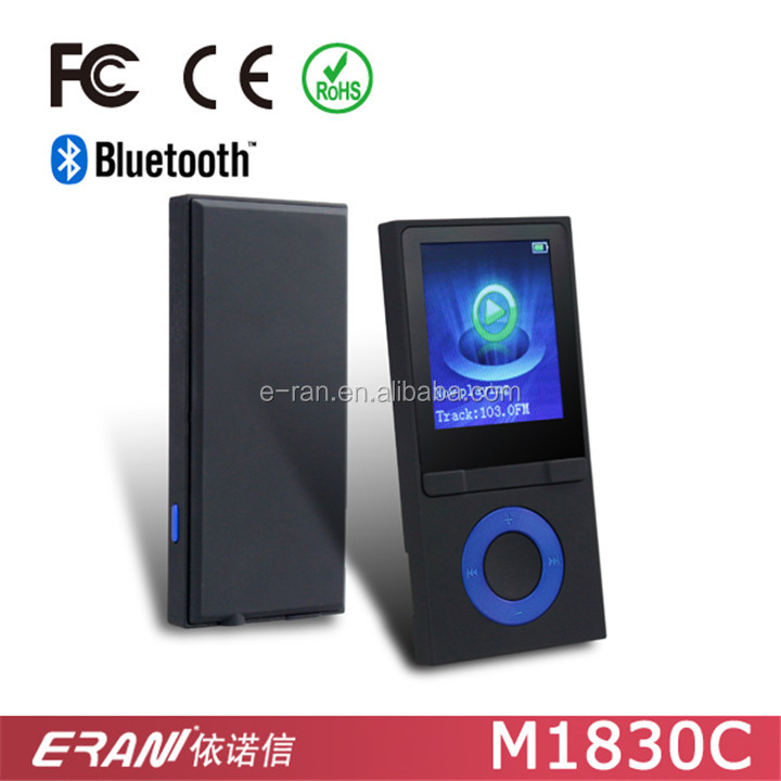 "Fashion Bluetooth MP4 Player in Promotion, MP4 Bluetooth Music Player with 1.8"" TFT Optional Pedometer Function"