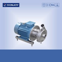 Electric food grade centrifugal pump with abb motor