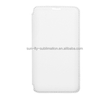 Sublimation flip leather phone case /mobile phone flip leather case /phone flip leather case for Samsung Note 3