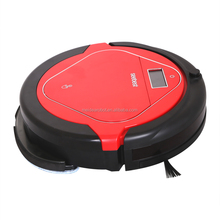 Newest Red Color Wifi Controlled Robot Vacuum Cleaner