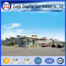 Galvanized steel beam low cost prefab steel warehouse steel structure warehouse drawings metal shed sale from China