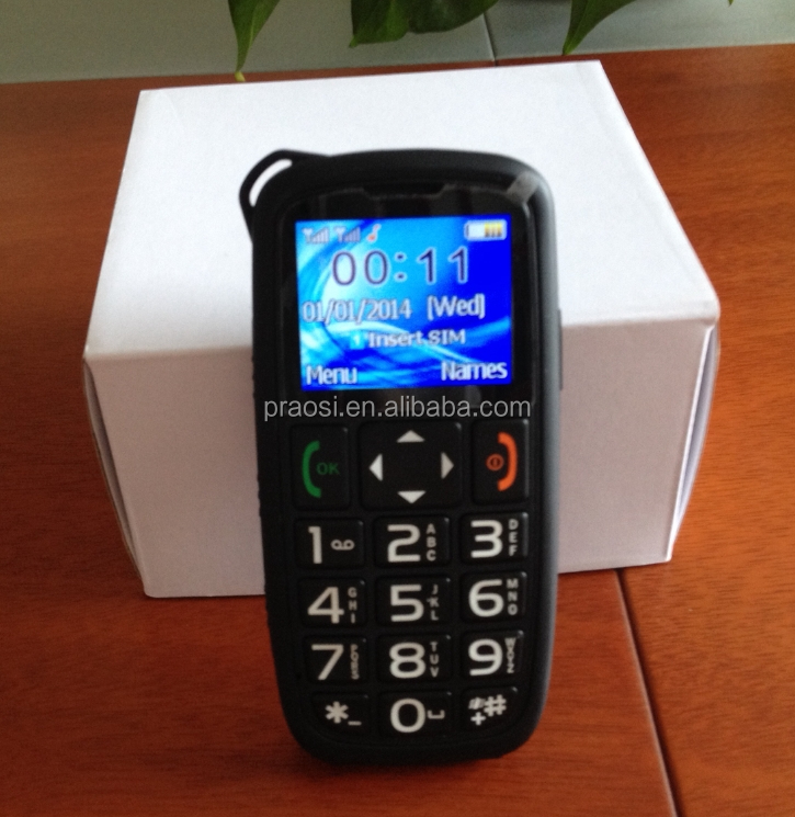 basic function gsm cell phones elderly sos mobile phone with speed dial