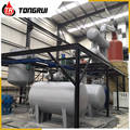 Waste Oil Recycling Engine Oil Making into New SN500 Base oil Distillation Refinery Machine