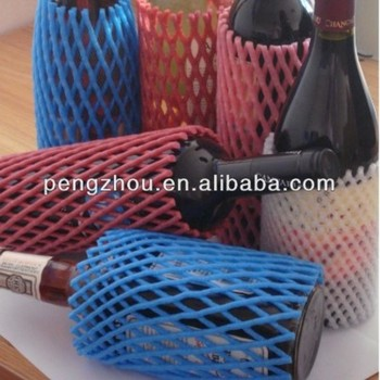 Foam mesh net EPE bottle packing sleeve