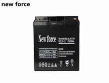 High quality full capacity storage lead acid battery 6 dzm 12 battery