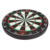 Bristle Dartboard with Increased Scoring Area and Improved Dart Deflection for Reduced Bounce-Outs professional darts board