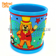 PVC rubber Coffee cup Mug Dog Mugs Promotional party Gifts