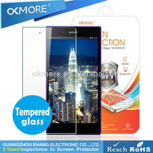 Best products for import 2.5d anti-shock tempered glass screen protector for htc hd2