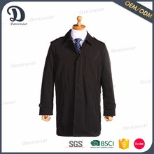 Factory made turn-down collar coat for men