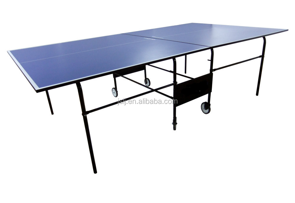 Doble patas de mesa plegable impermeable mesas de ping pong de interior al aire libre d9408 - Mesa ping pong plegable ...