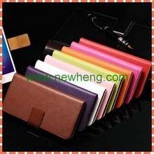 For iPhone6 Genuine Leather Case, Leather Flip Case for iPhone6