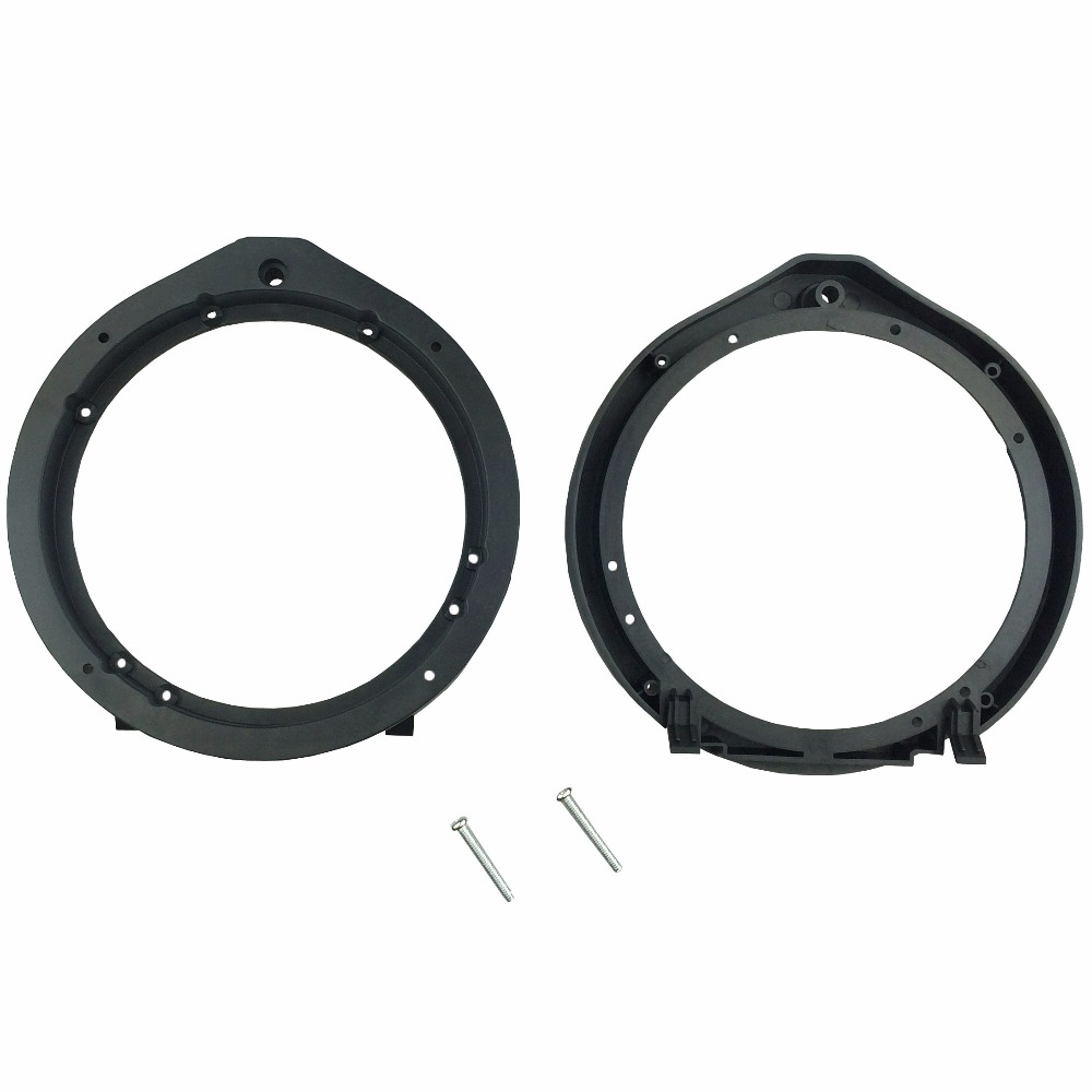 "Car Front Door Speaker Mount Adapter Plates For Honda Accord City Crosstour CR-Z Insight Civic 6.5""/6.75"" 165mm Stand Ring Frame"