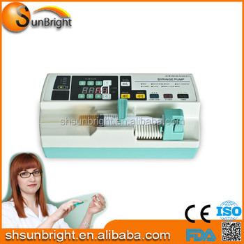 Portable dual channel for optional syringe pump & infusion pump