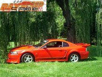 87-93 Z3 Style Fiber Glass Auto Fenders for Ford Mustang