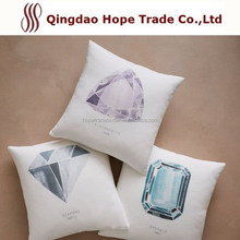 High Quality T/C Polyester Cotton Colorful Plain Cushion