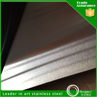 Traditional hairline 304 stainless steel metal sheet for small elevator cabin